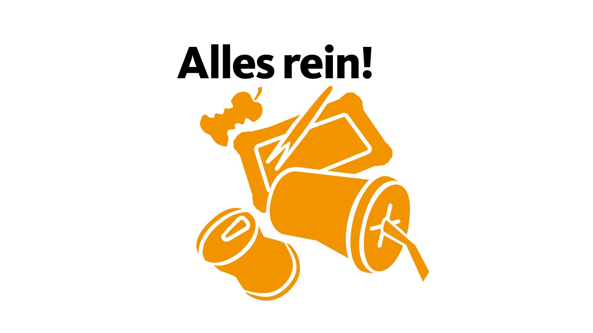 Alles rein! Kampagne für die Stadt Mannheim, Konzeption und Realisierung
