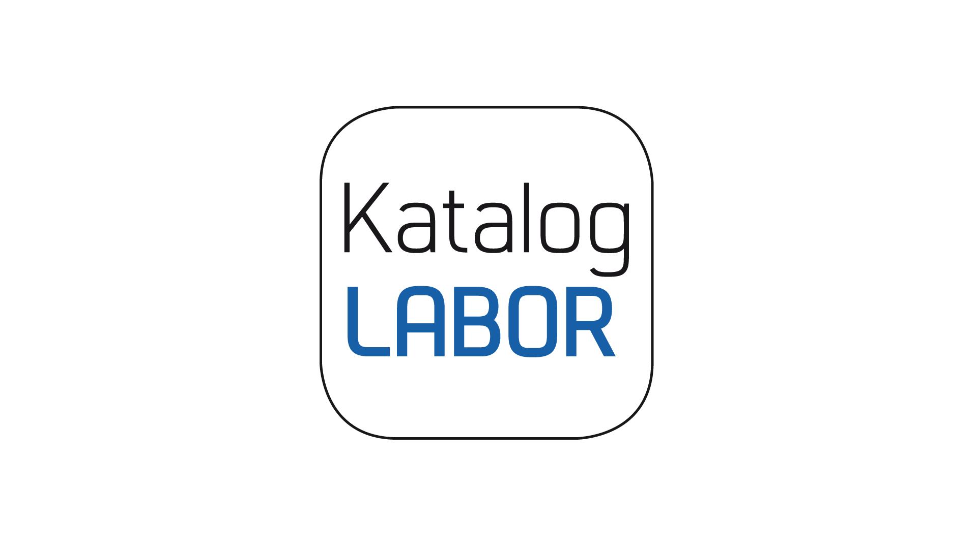 Logo KatalogLabor, Label für Gestaltung von Kunstbüchern und Katalogen