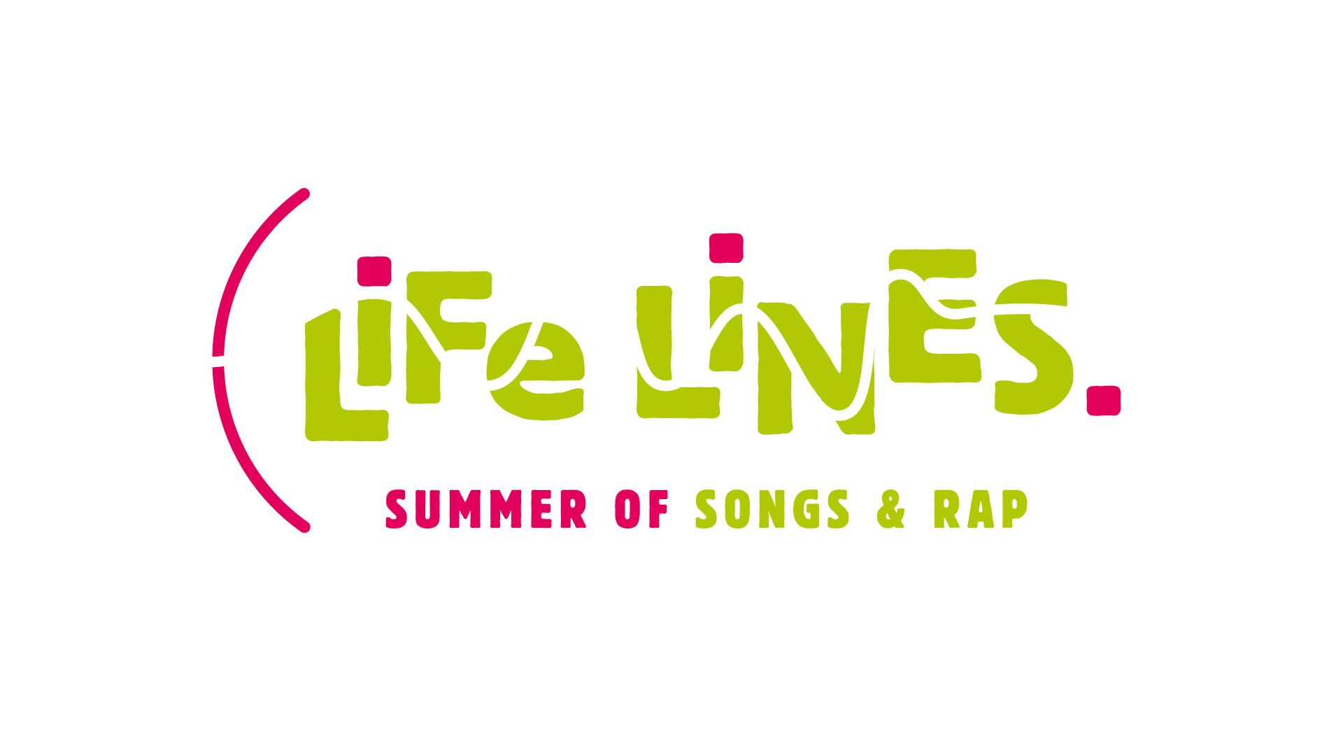 Life Lines - Summer of Songs and Rap: Logo, Printmedien