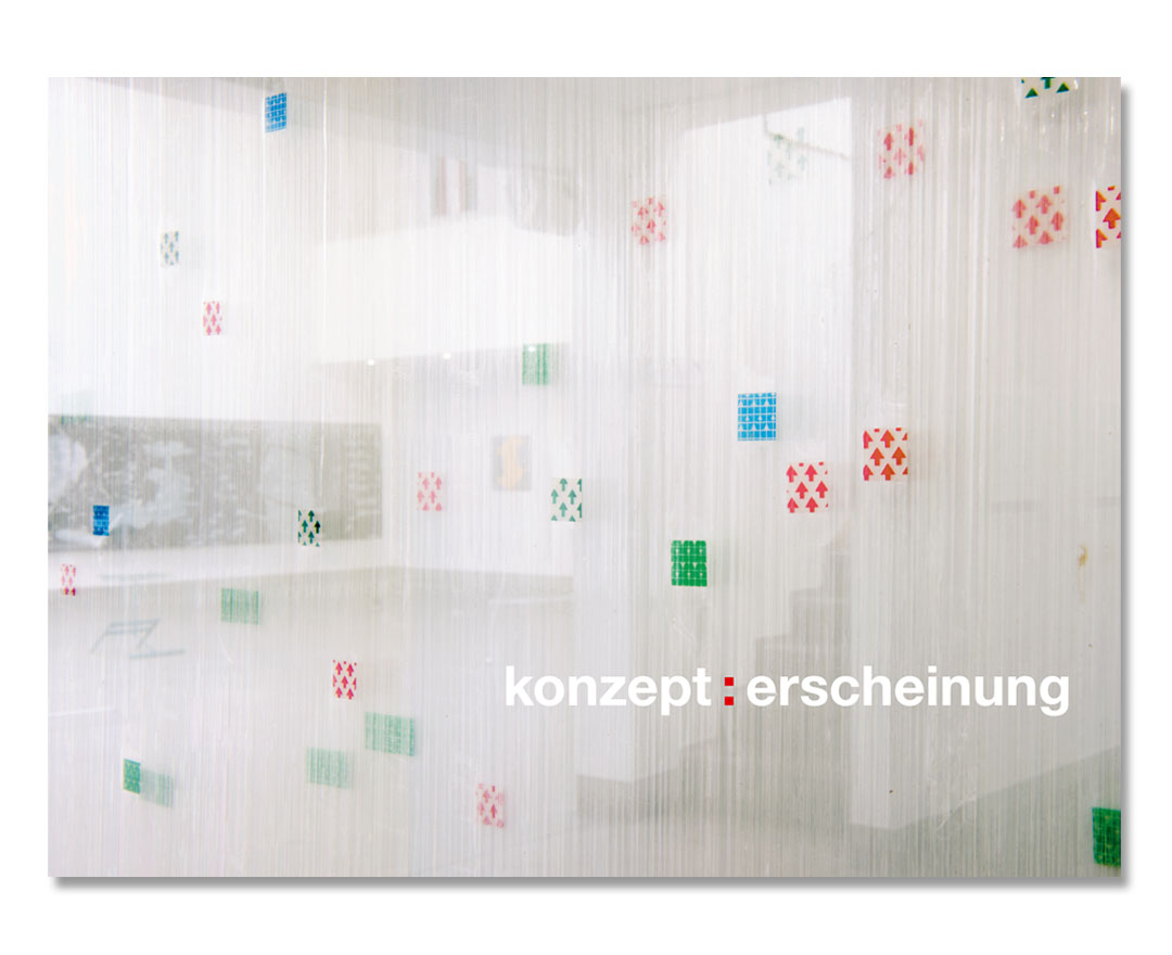Künstlerforum Bonn, Katalog konzept:erscheinung