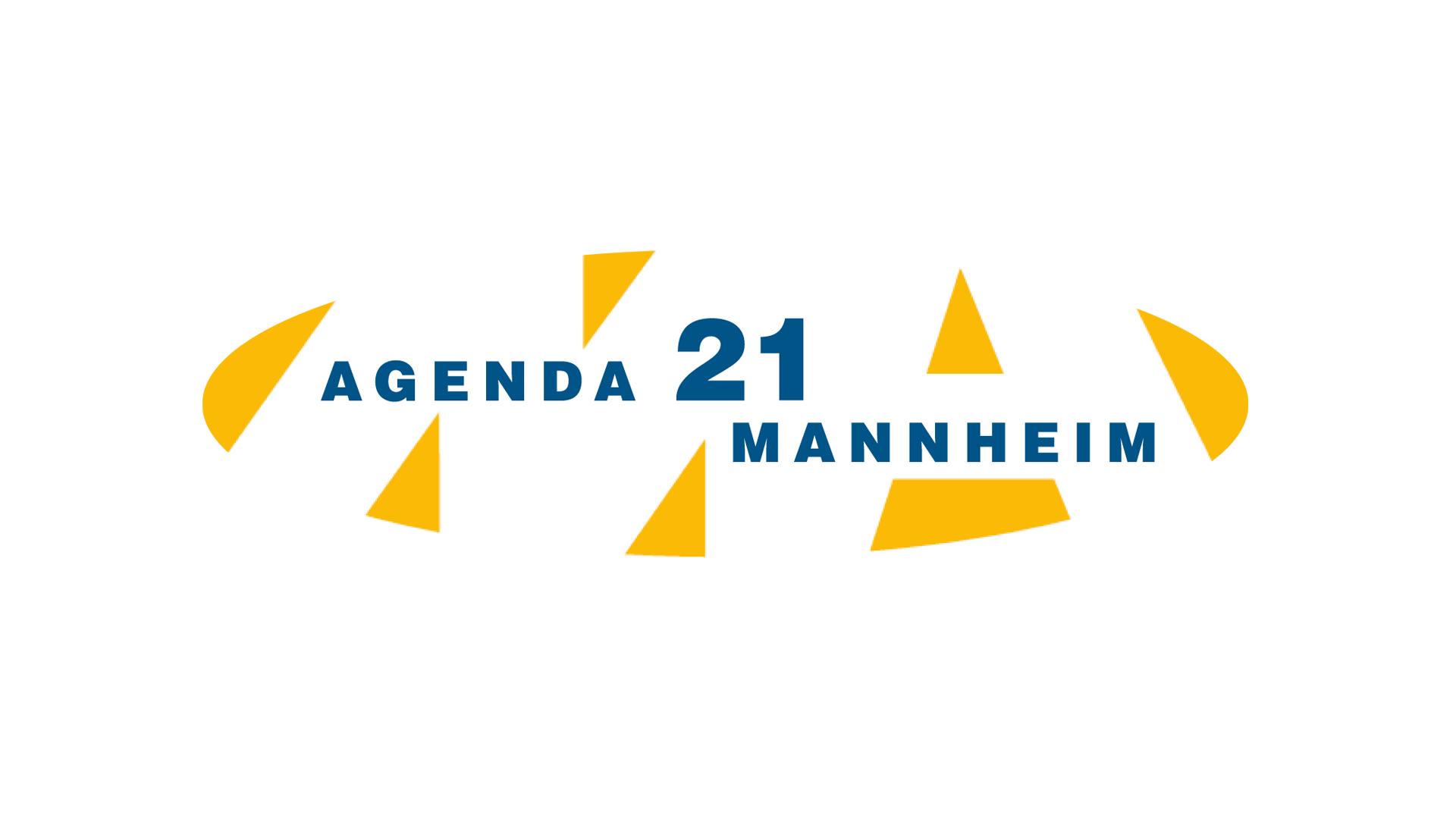 Agenda 21 Mannheim Logo, Flyer, Plakate, Infostand