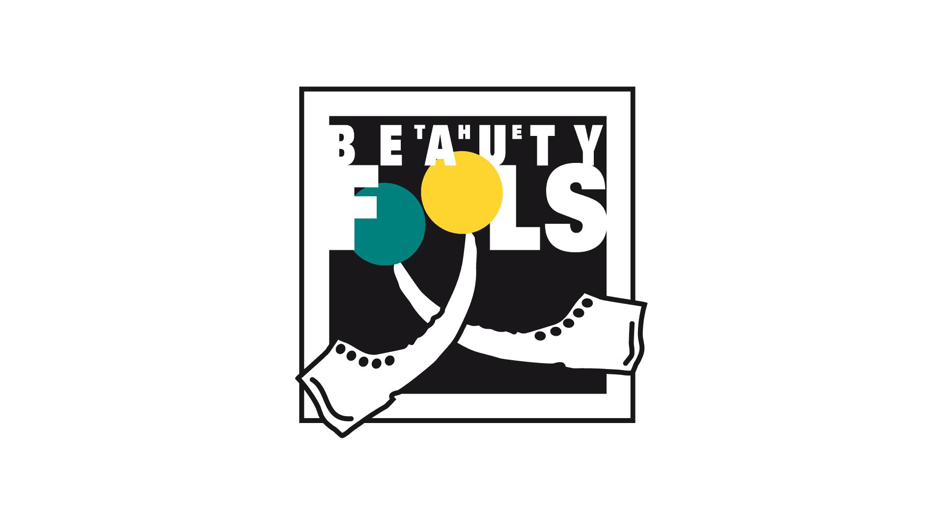 Beauty Fools, Mannheim Bandlogo, Geschäftspapiere, Infoflyer