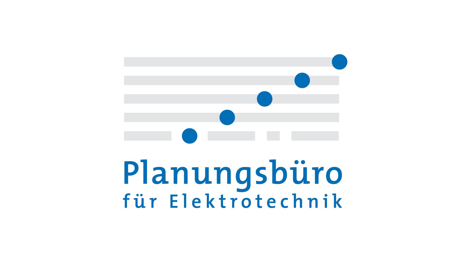 Planungsbüro für Elektrotechnik, Logo, Geschäftspapiere, Web