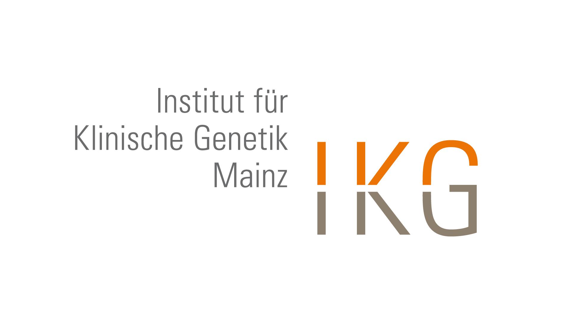 Institut für Klinische Genetik Mainz, Logo, Geschäftspapiere, Web
