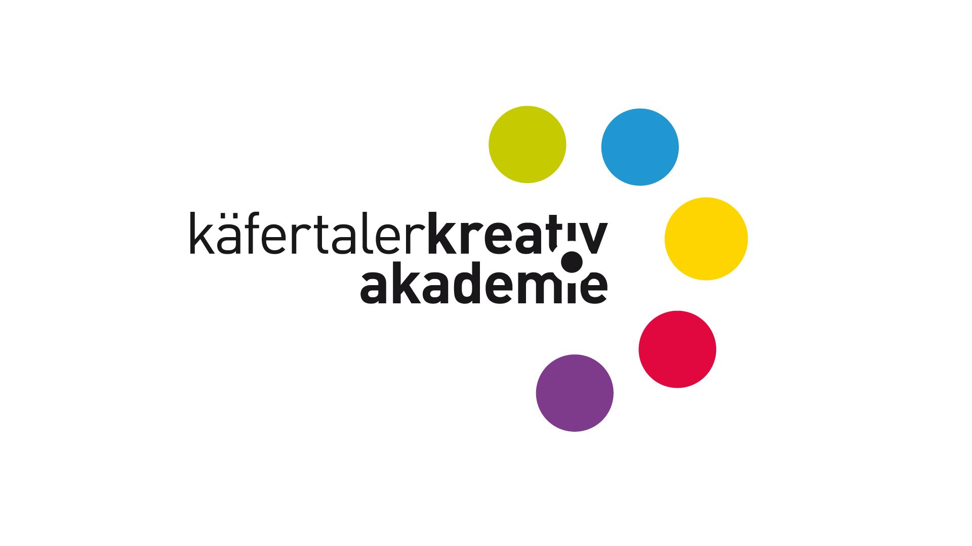 Käfertaler Kreativakademie, Logo, Flyer, Plakate, Web