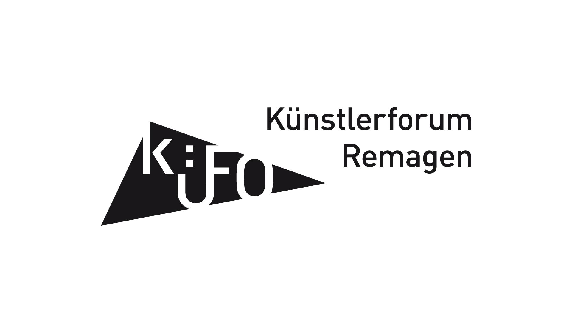 Künstlerforum Remagen Relauch Logo, Einladnungen, Plakate, Web