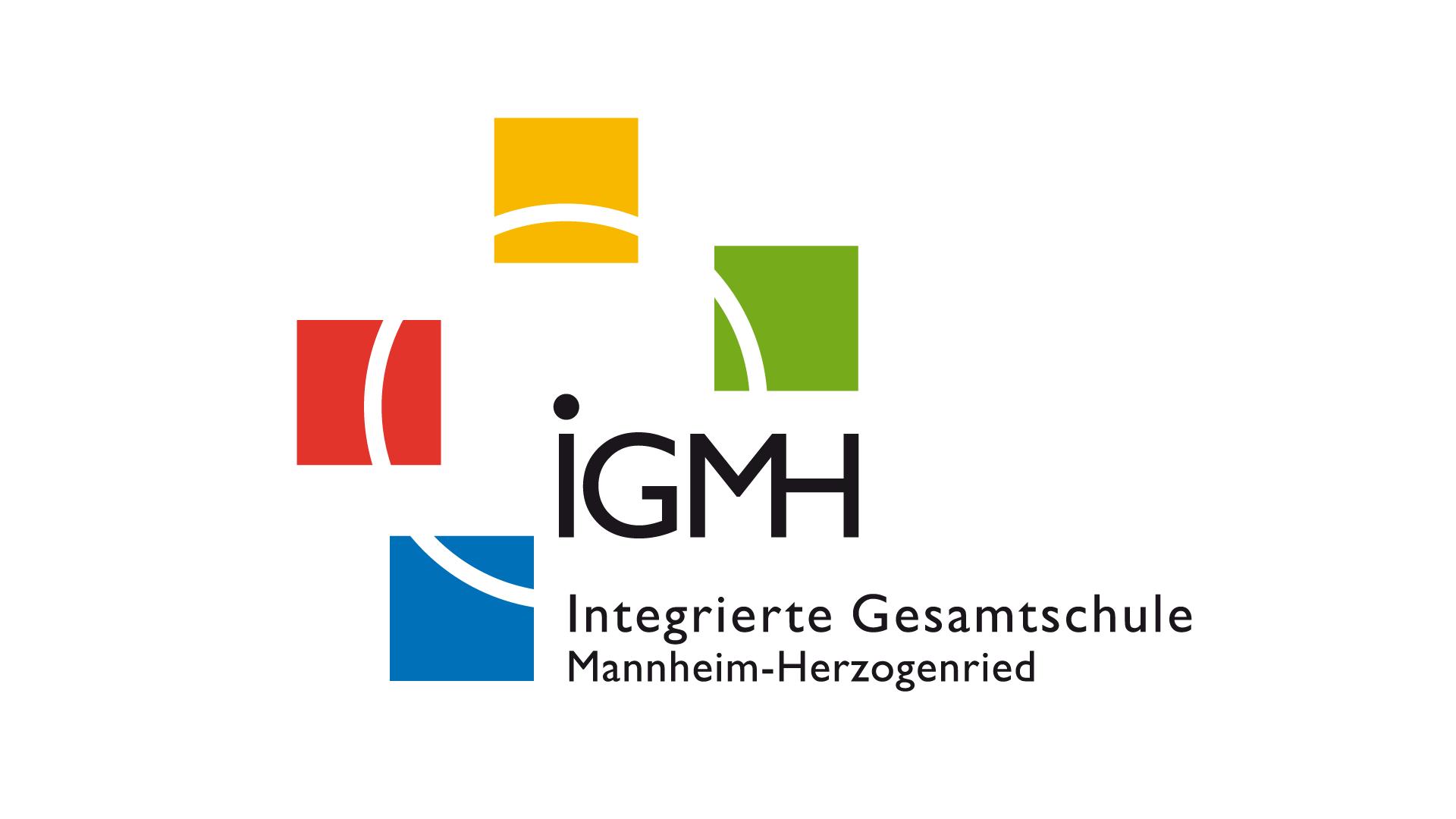 Integrierte Gesamtschule Mannheim-Herzogenried, Logo, Geschäftspapiere