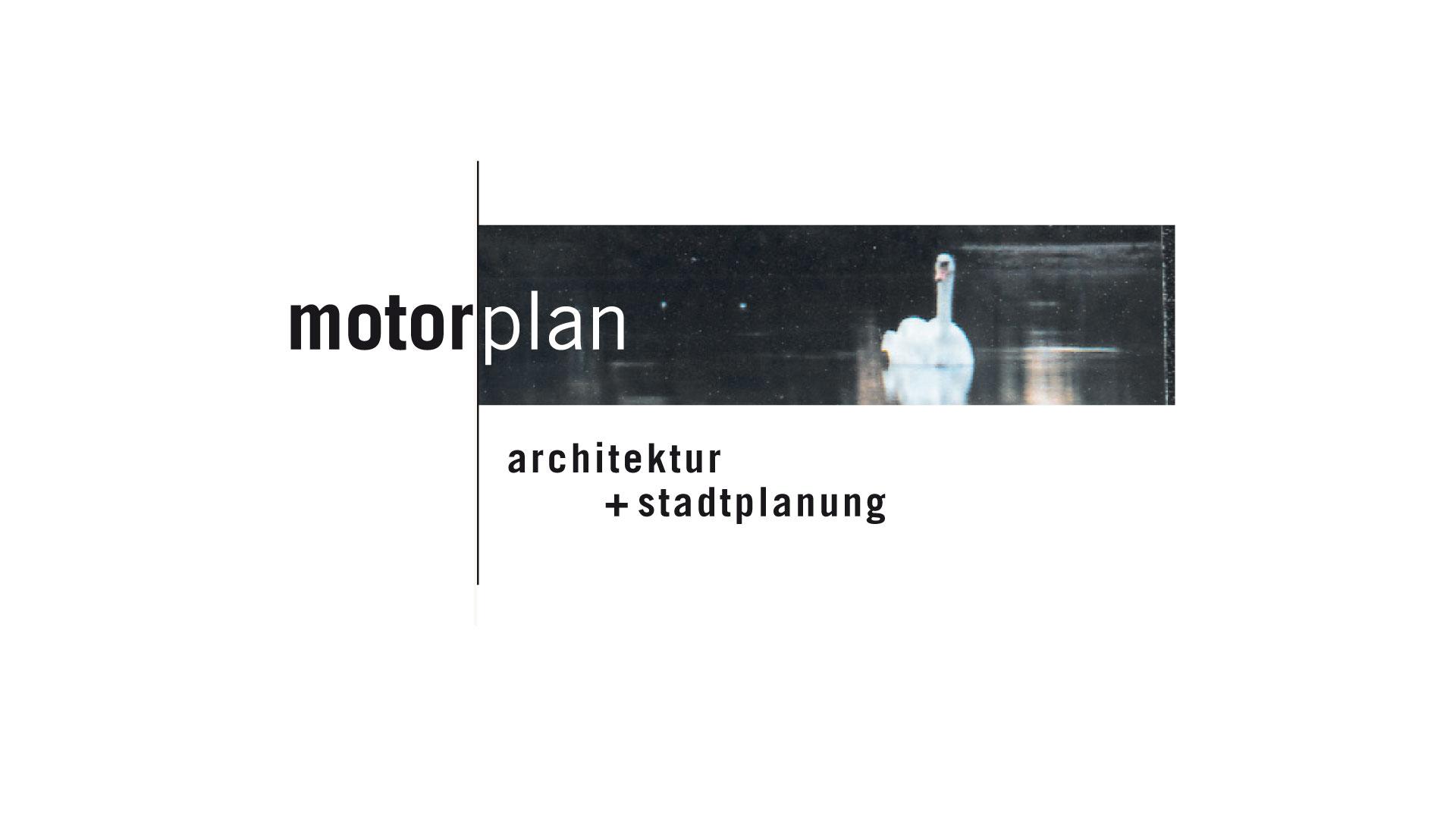 motorplan Logo, Geschäftspapiere, Imagebroschüre