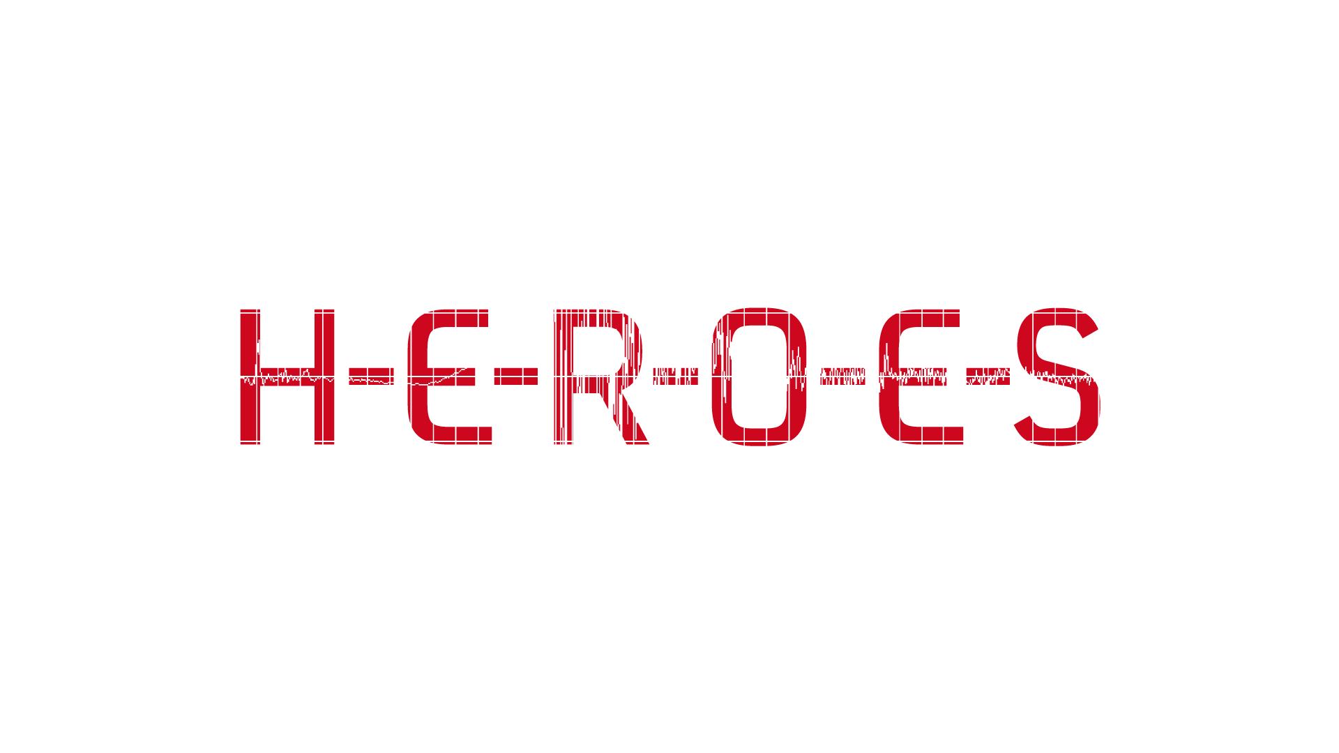 HEROES - Logo für eine Veranstaltungsreihe