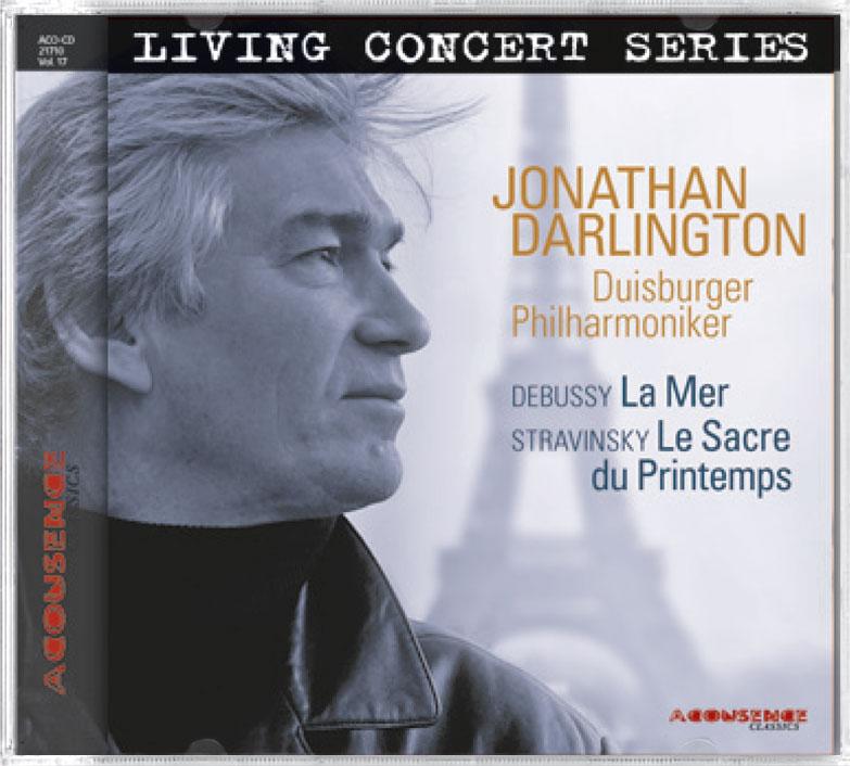 Duisburger Philharmoniker, Dirigent: Jonathan Darlington, La Mer, Acousence