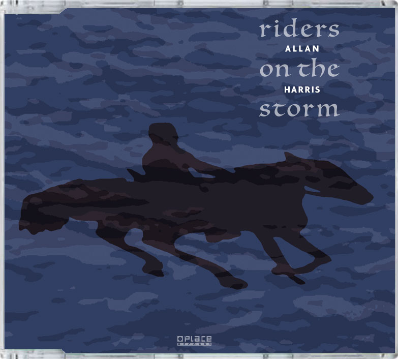 CD Single Allan Harris, Riders on the storm, PLACE records