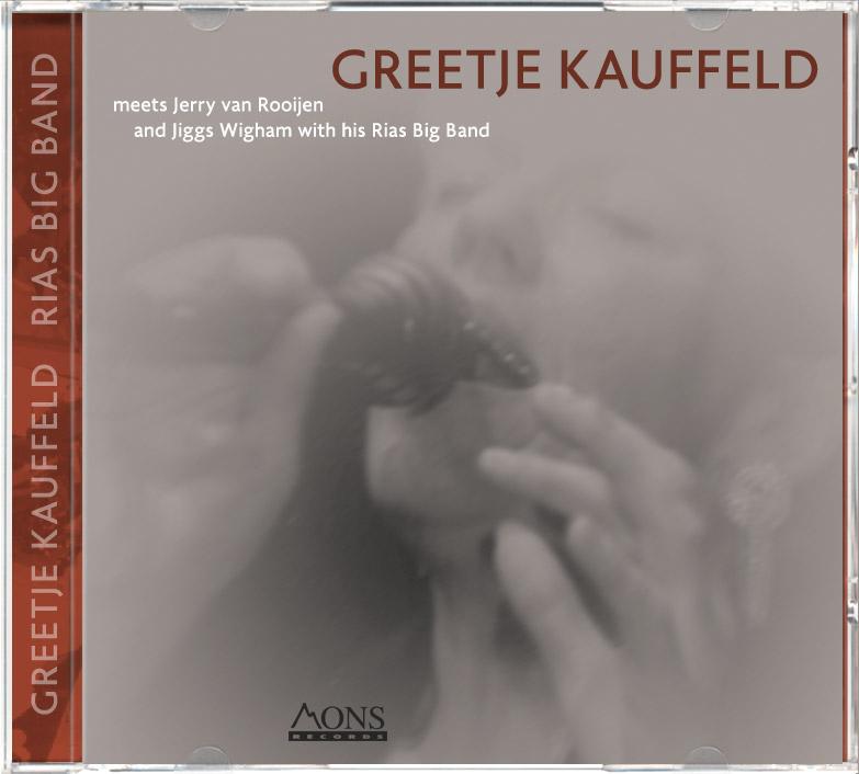 CD Greetje Kauffeld meet Rias Big Band, MONS RECORDS