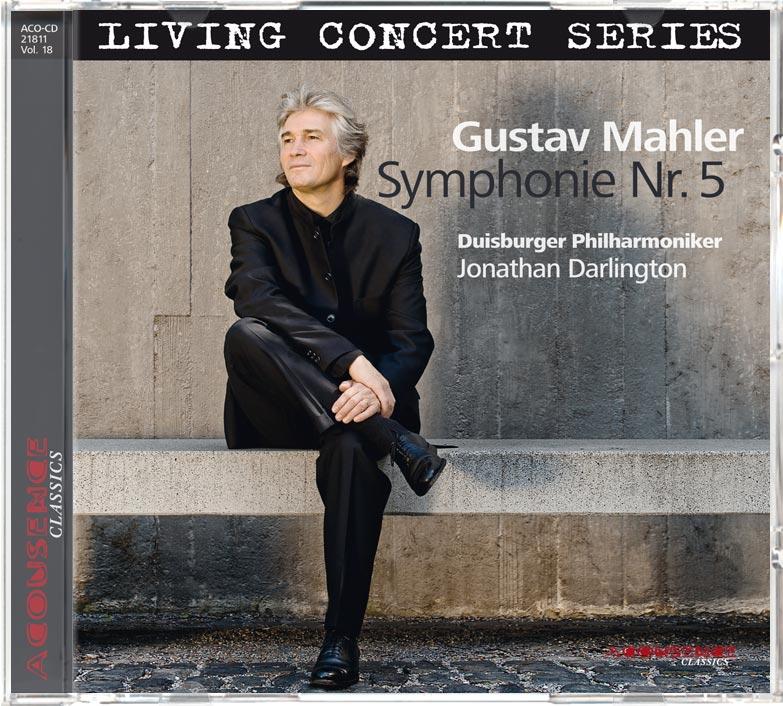 CD Gustav Mahler, Symphonie Nr. 5, Duisburger Philharmoniker, Leitung: Jonathan-Darlington, ACOUSENCE