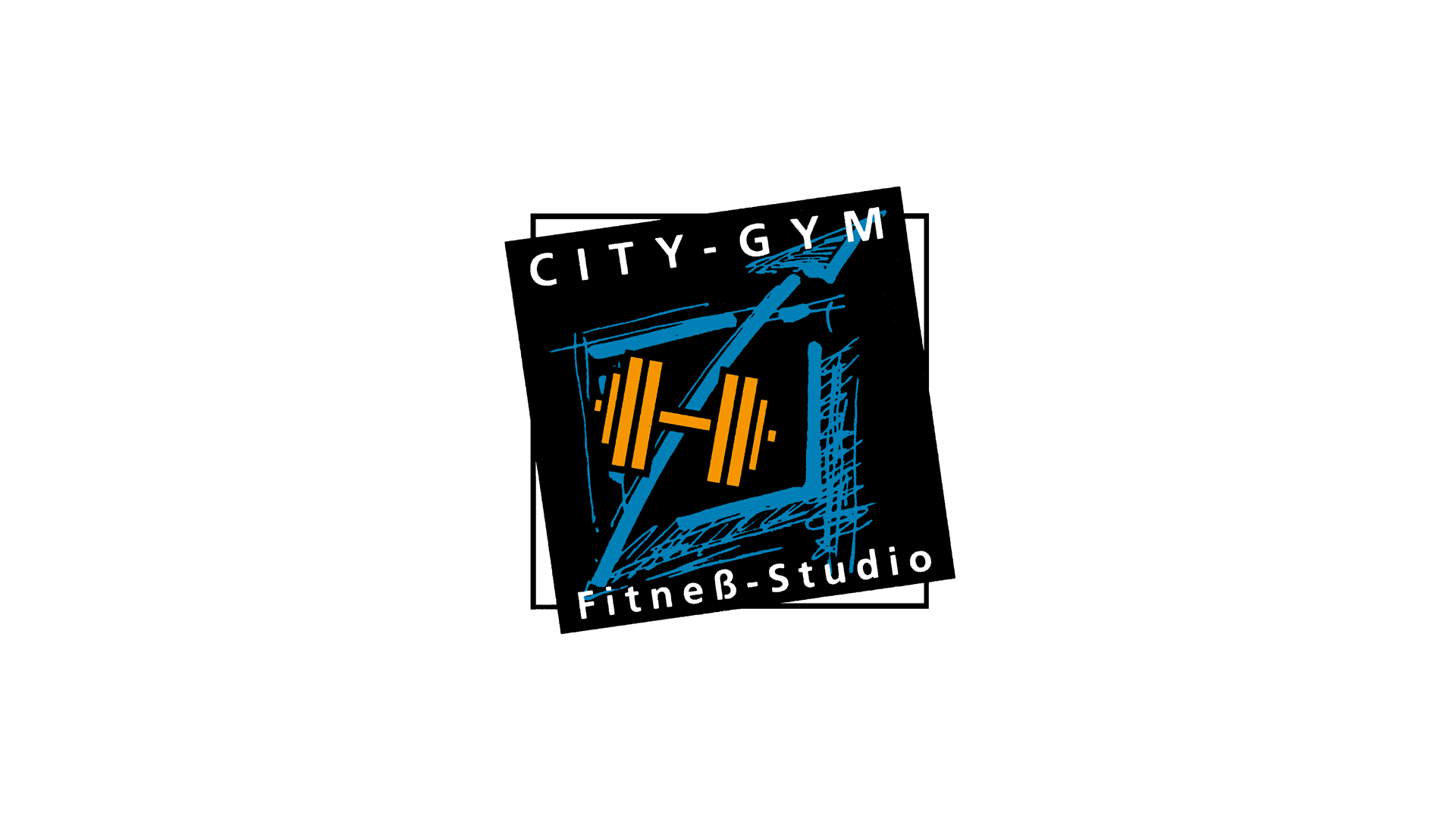 City-Gym. Fitneß-Studio: Logo, Printmedien