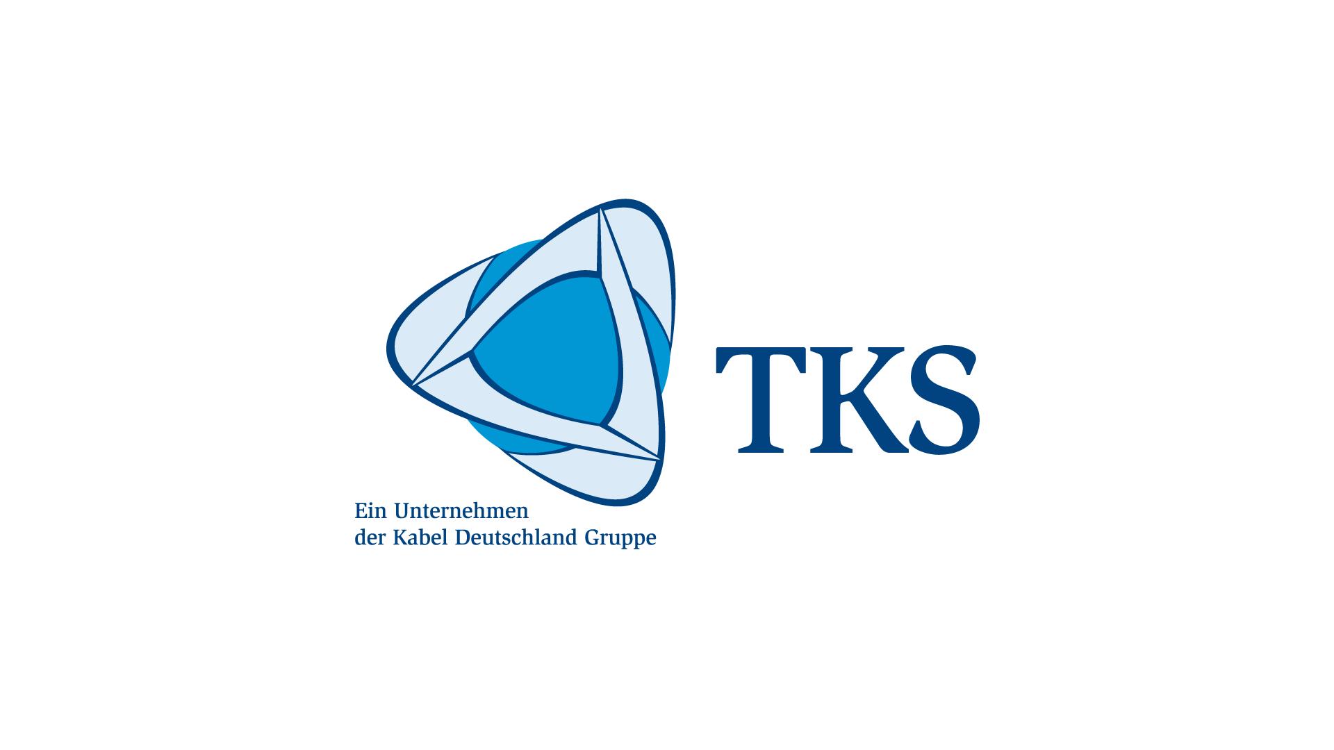 Logo für TKS, ein Unternehmen der Kabel Deutschland Gruppe