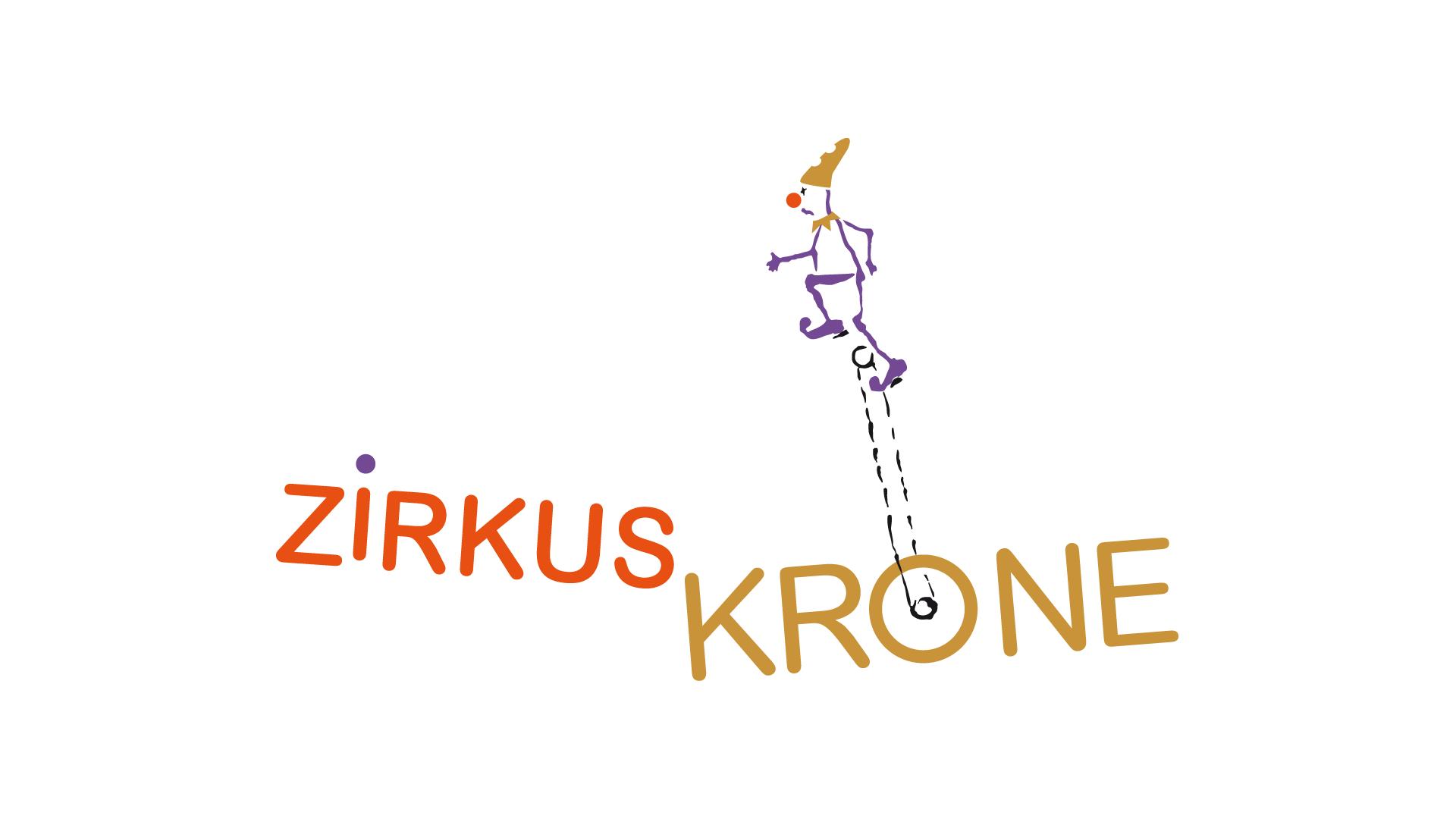 Logoentwurf für einen Zirkus