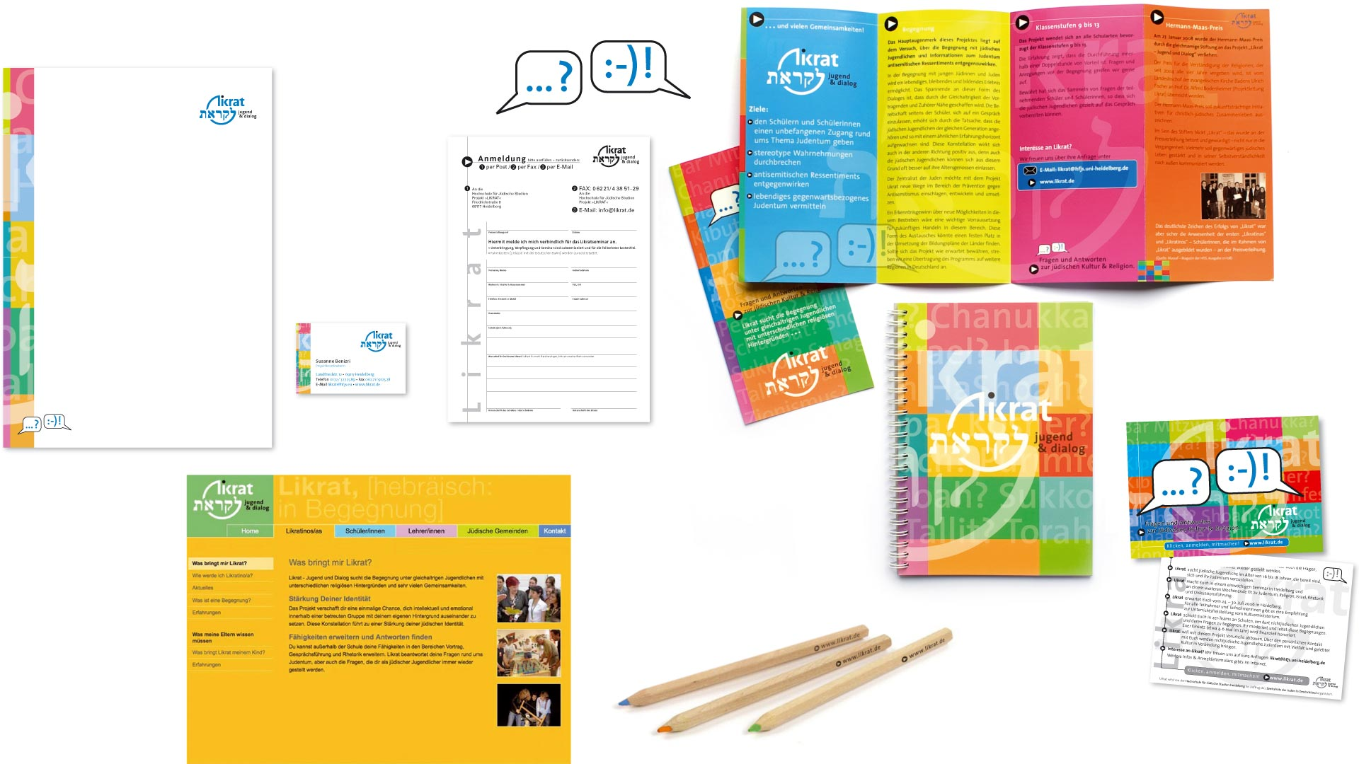 Logoentwicklung, Konzeption und Gestaltung Printmedien