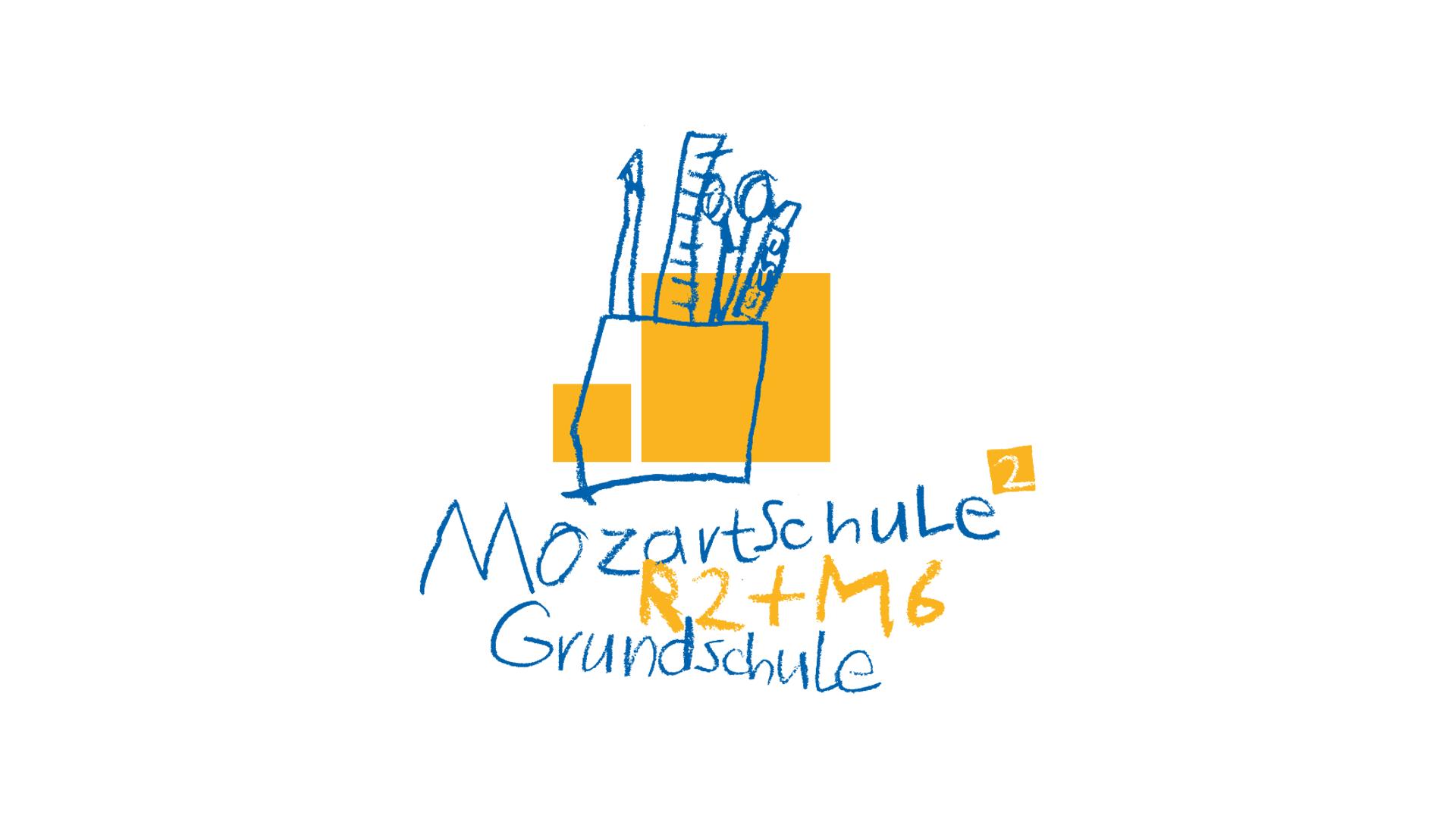 Logo für die Mozart Grundschule in Mannheim